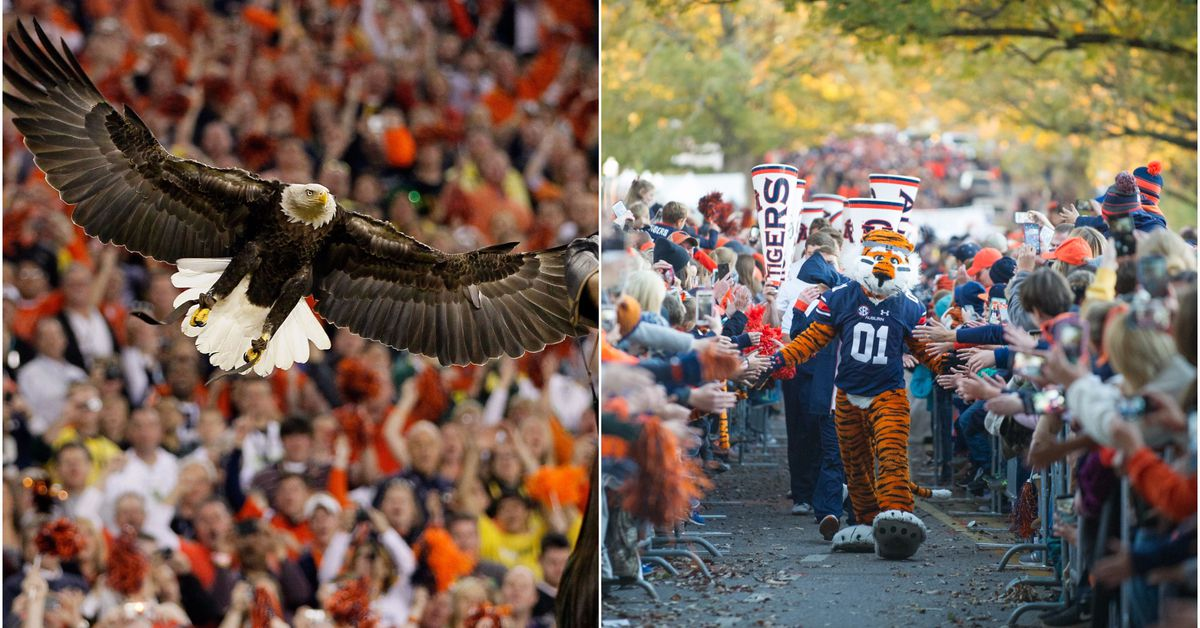 Why Auburn Doesnt Technically Have 2 Mascots Sbnation