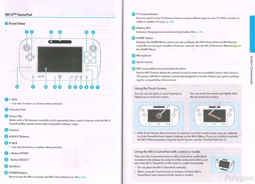 wii u instruction manual offers detailed diagrams of. Black Bedroom Furniture Sets. Home Design Ideas