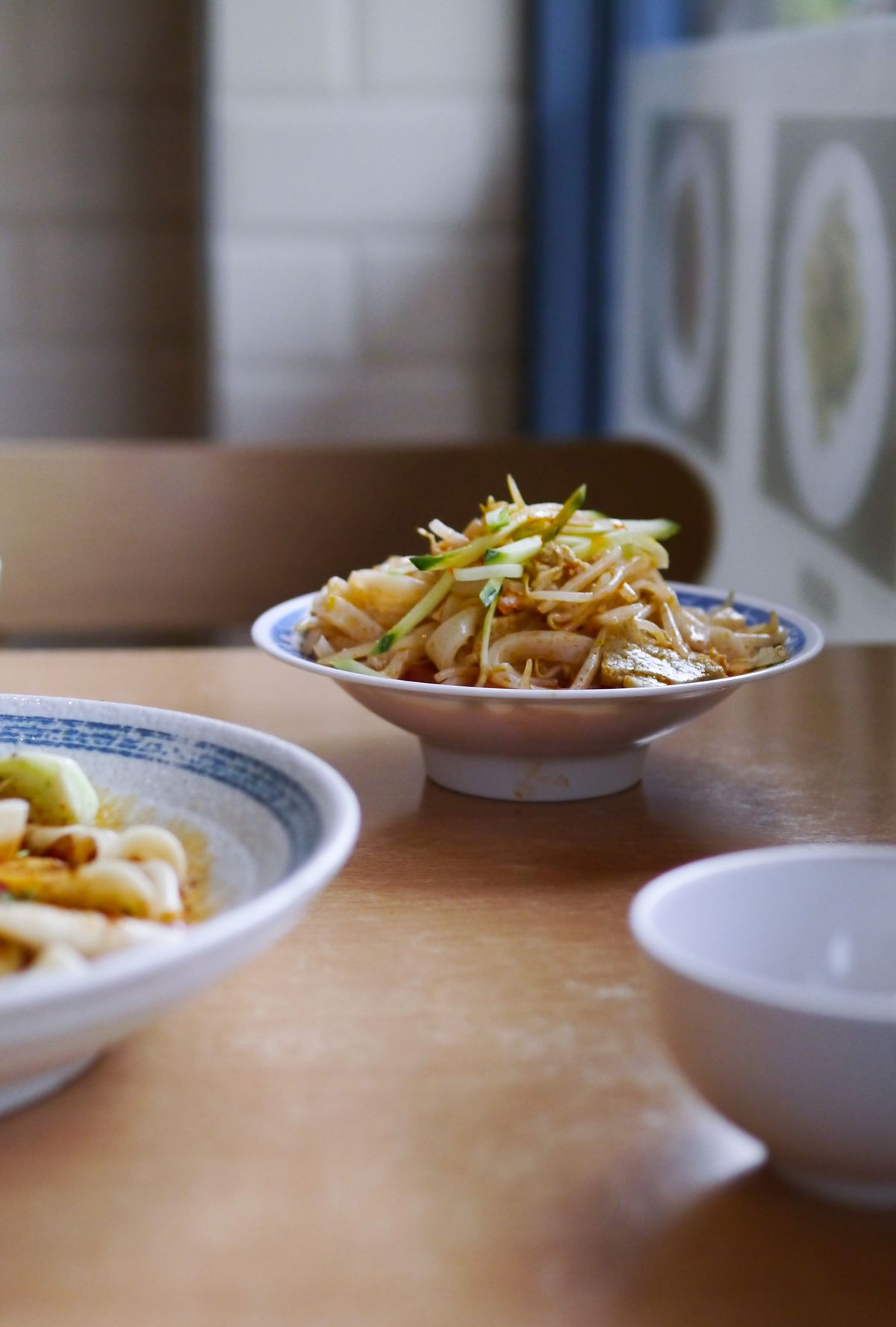 Cold skin noodles at Xi'an Impression, a Xi'an Chinese restaurant in north London
