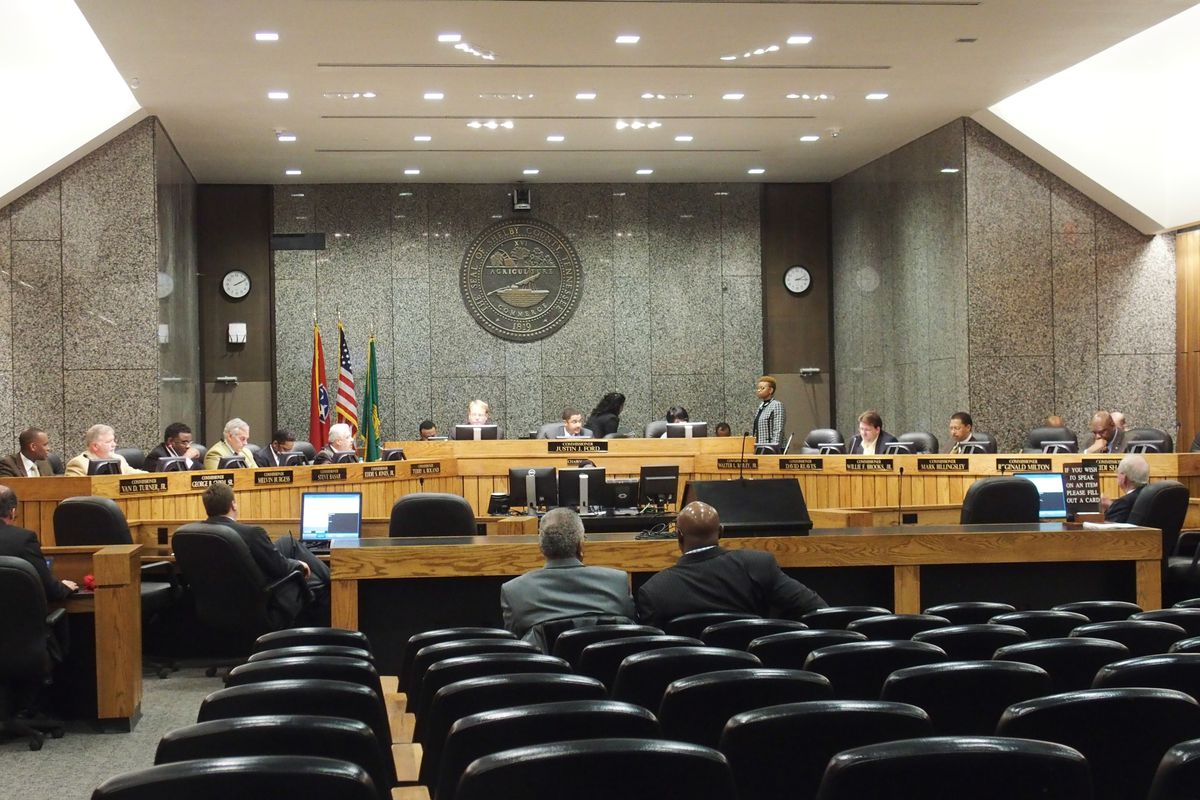 The election for Shelby County commissioners is Aug. 2 with early voting starting July 13.