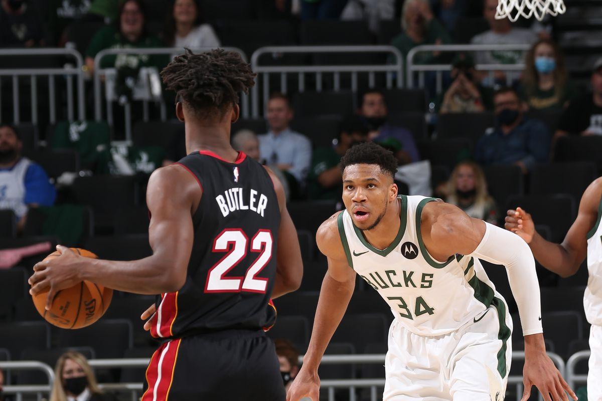 NBA 2021 Playoffs - Miami Heat v Milwaukee Bucks