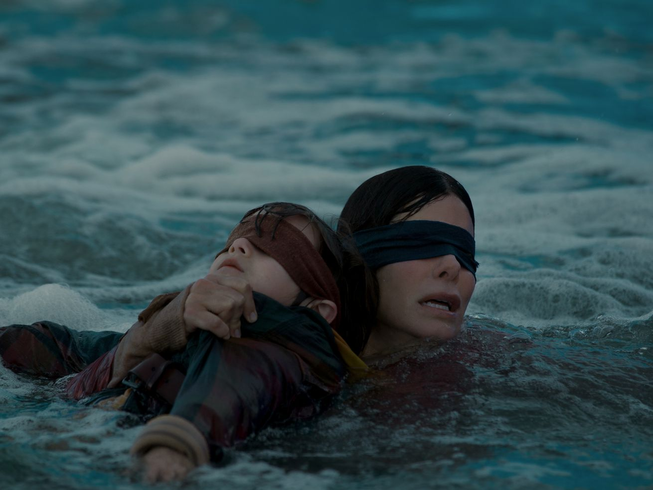 Sandra Bullock stars in <em>Bird Box</em>, out on Netflix December 21.