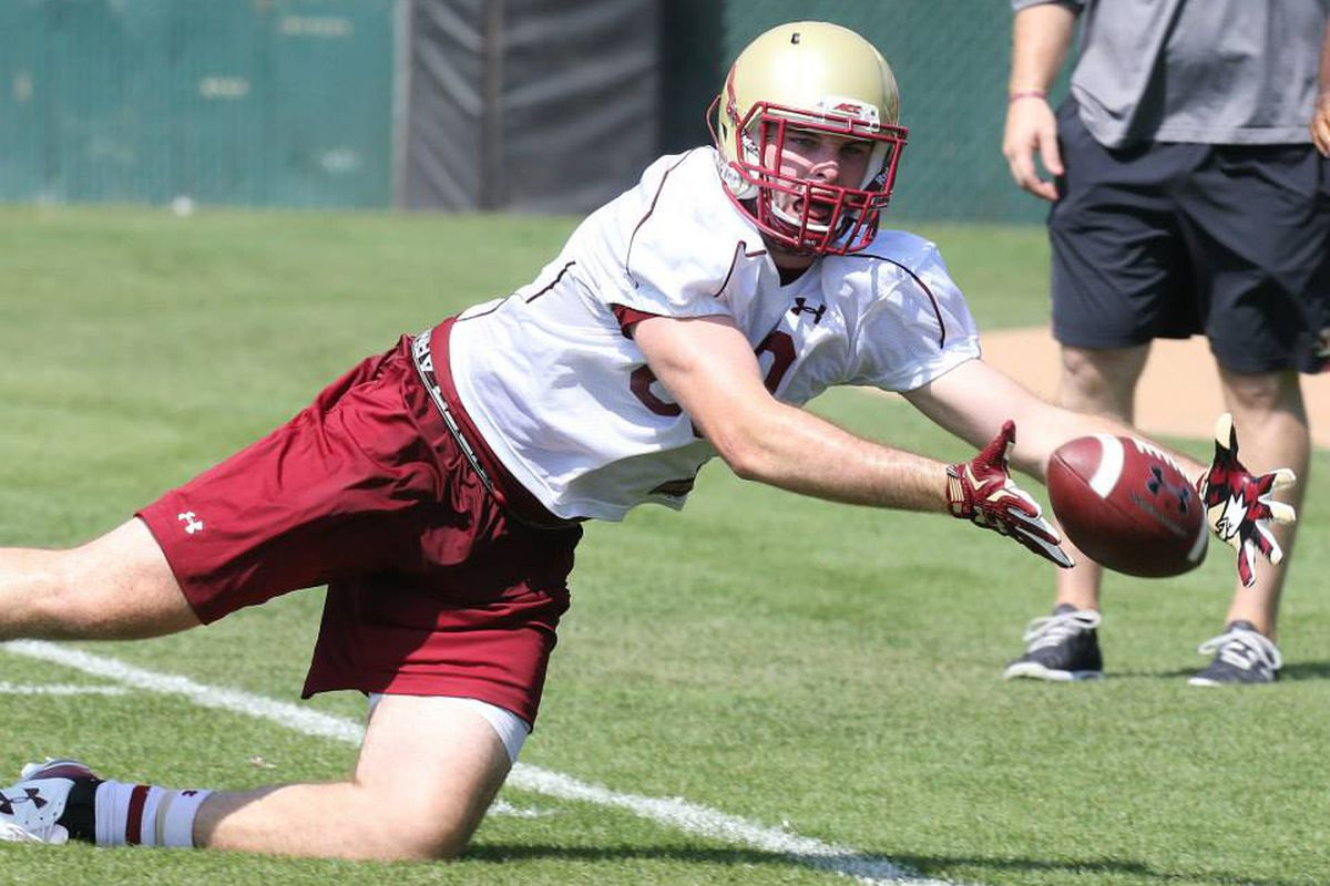 sports shoes aabca 144e7 Better Know A Dude 2015: #89 Tight End Tommy Sweeney - BC ...