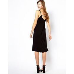 """<a href=""""http://www.asos.com/New-Look/New-Look-Strappy-Back-Cami-Dress/Prod/pgeproduct.aspx?iid=3550291&cid=13499&sh=0&pge=0&pgesize=36&sort=3&clr=Black"""">Strappy Back Cami Dress</a>, $20.70 (was $28.21)"""