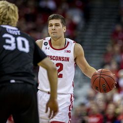 Trevor Anderson has performed well as Wisconsin's backup point guard, spelling Trice frequently.