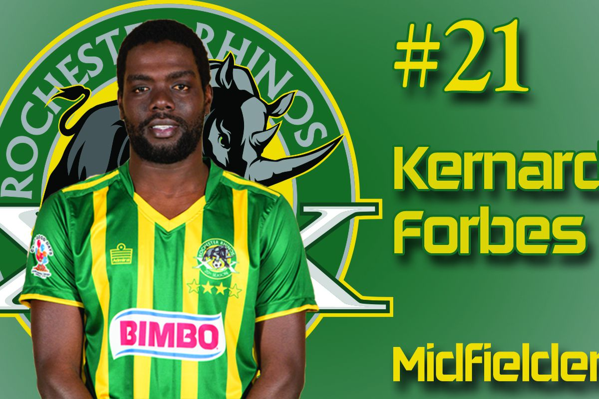 Kenardo Forbes scored his second league goal for Rochester in the 50th minute.