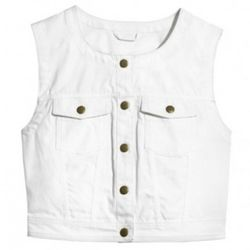 Organic cotton vest, $29.95