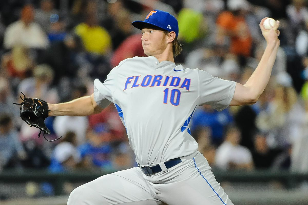 Florida lefty A.J. Puk hopes to help his Gators validate their top seed with a College World Series title.