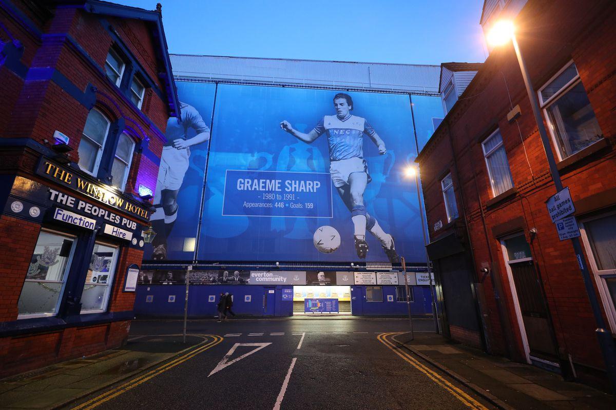 Everton v Manchester City - Premier League - Goodison Park