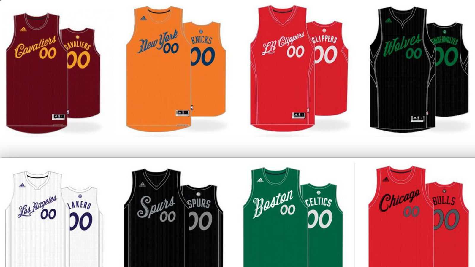 NBA Christmas jerseys 2016: If it ain't broke, don't fix it ...