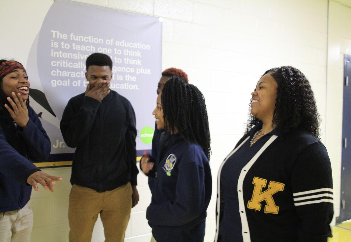Green Dot Kirby Middle School restorative justice