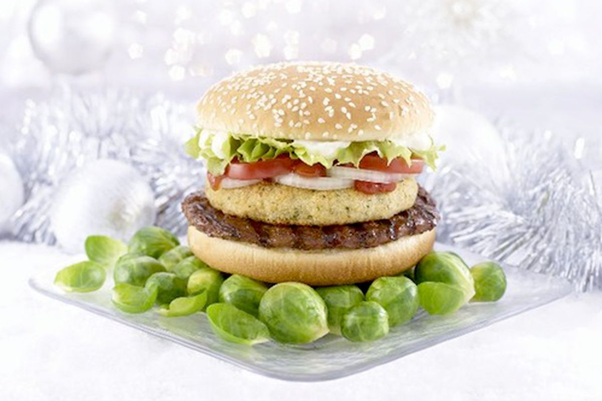 A Brussels Sprouts Whopper from Burger King in England - Eater