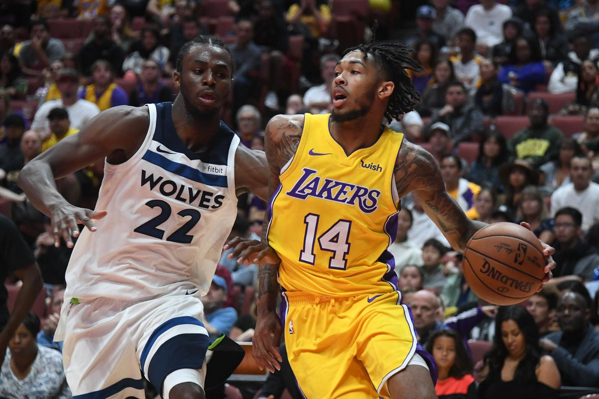Lakers Vs. Timberwolves: Game Preview, Thread, Starting