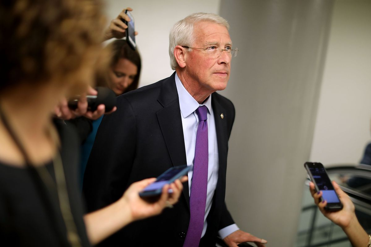 Senate Lawmakers Speak To Press After Weekly Policy Luncheons