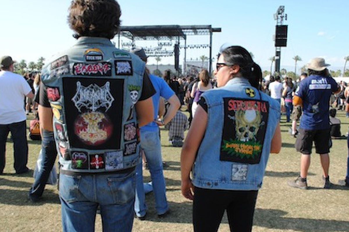 """The Big 4 at Empire Polo Field: we'd bet $1,000 that there was no Opening Ceremony, Alexander Wang, TOMS or APC within ten miles of this bitch. Image via <a href=""""http://blogs.laweekly.com/westcoastsound/the-big-4/"""">LA Weekly</a>"""