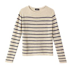 Linen striped sweater was $235 now $165