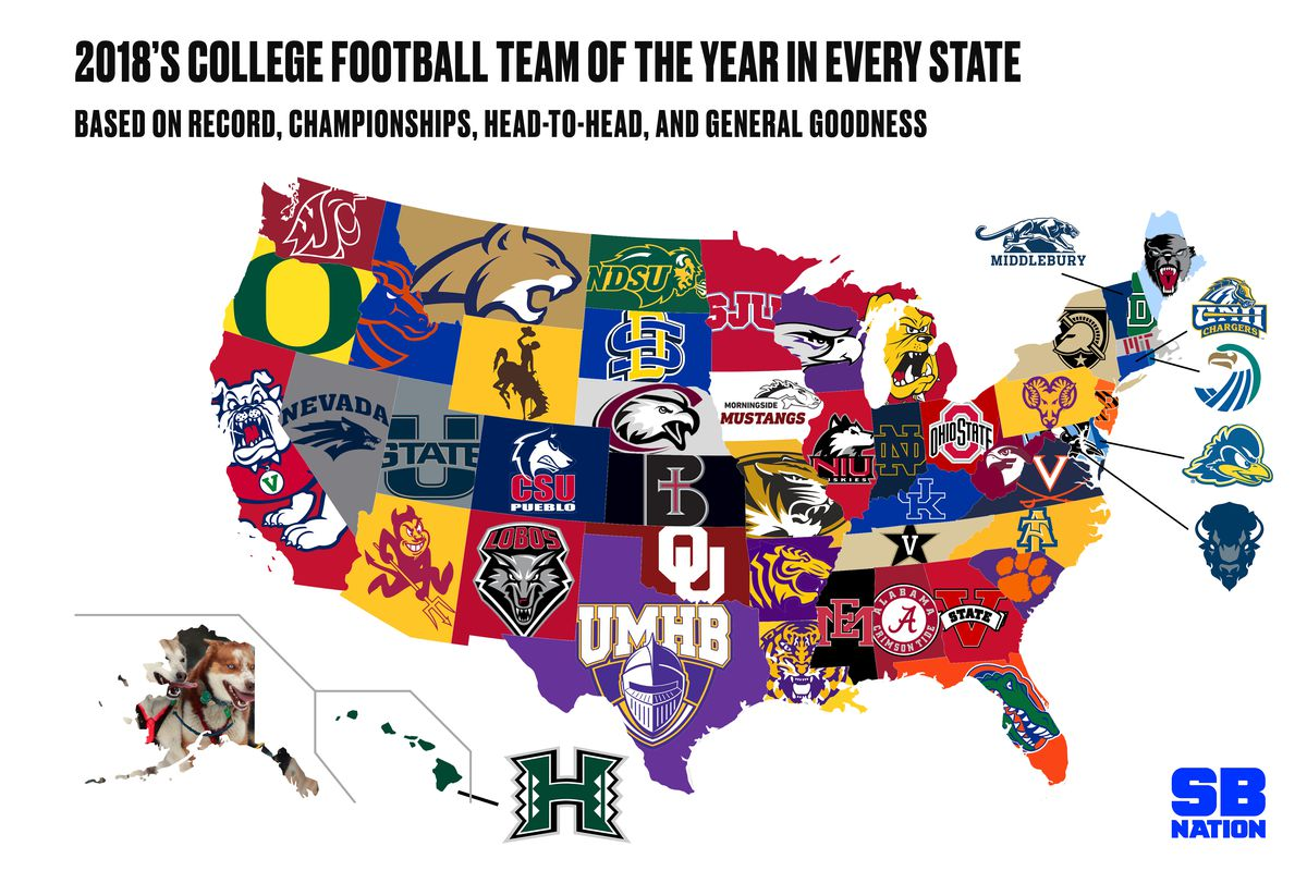College football's 2018 season: The greatest teams from ...