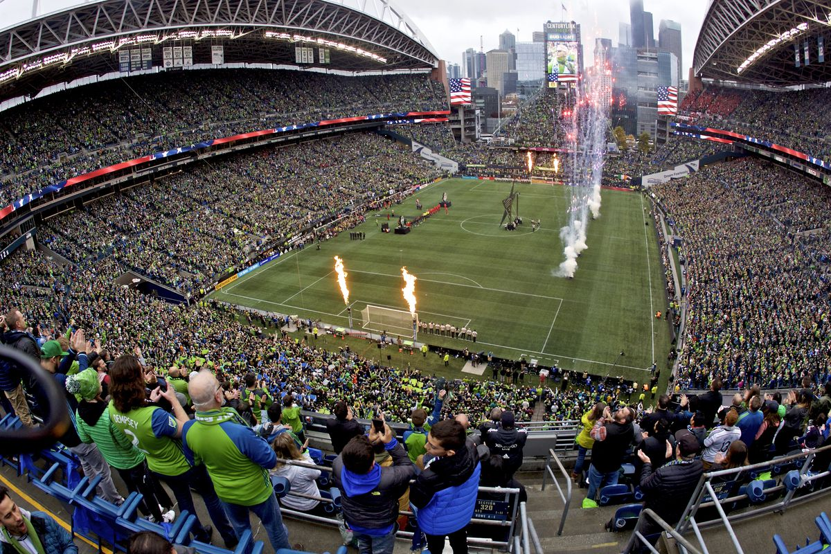 2019年美国职业足球大联盟杯——多伦多FC vs西雅图Sounders