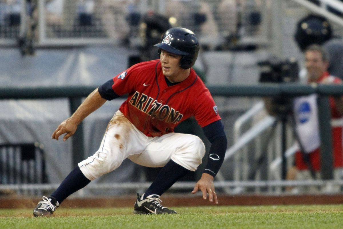Johnny Field is starting to heat up in the leadoff spot for Arizona's offense