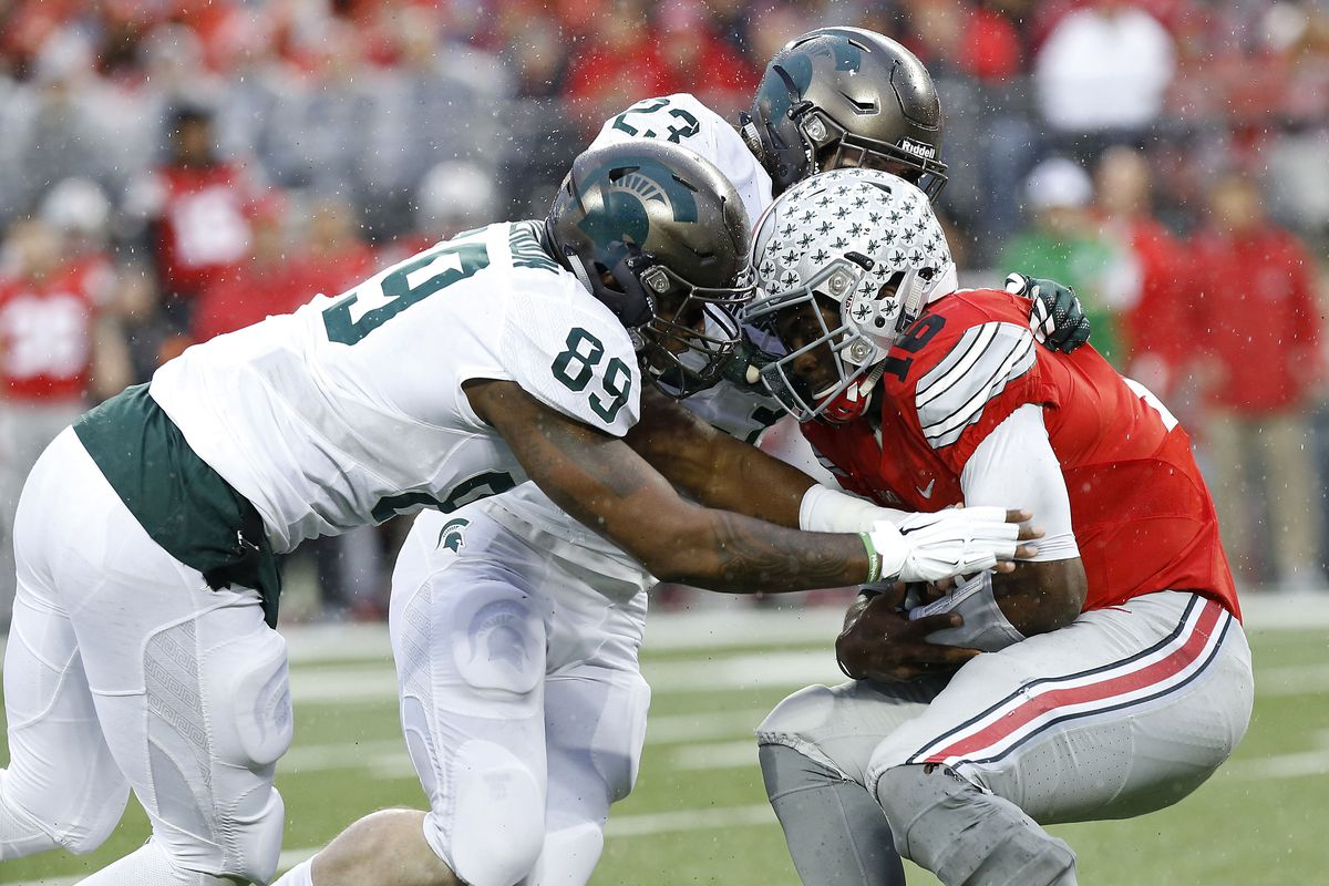 new arrival 995c4 ba2a4 Ohio State's solution against Michigan State wasn't more ...