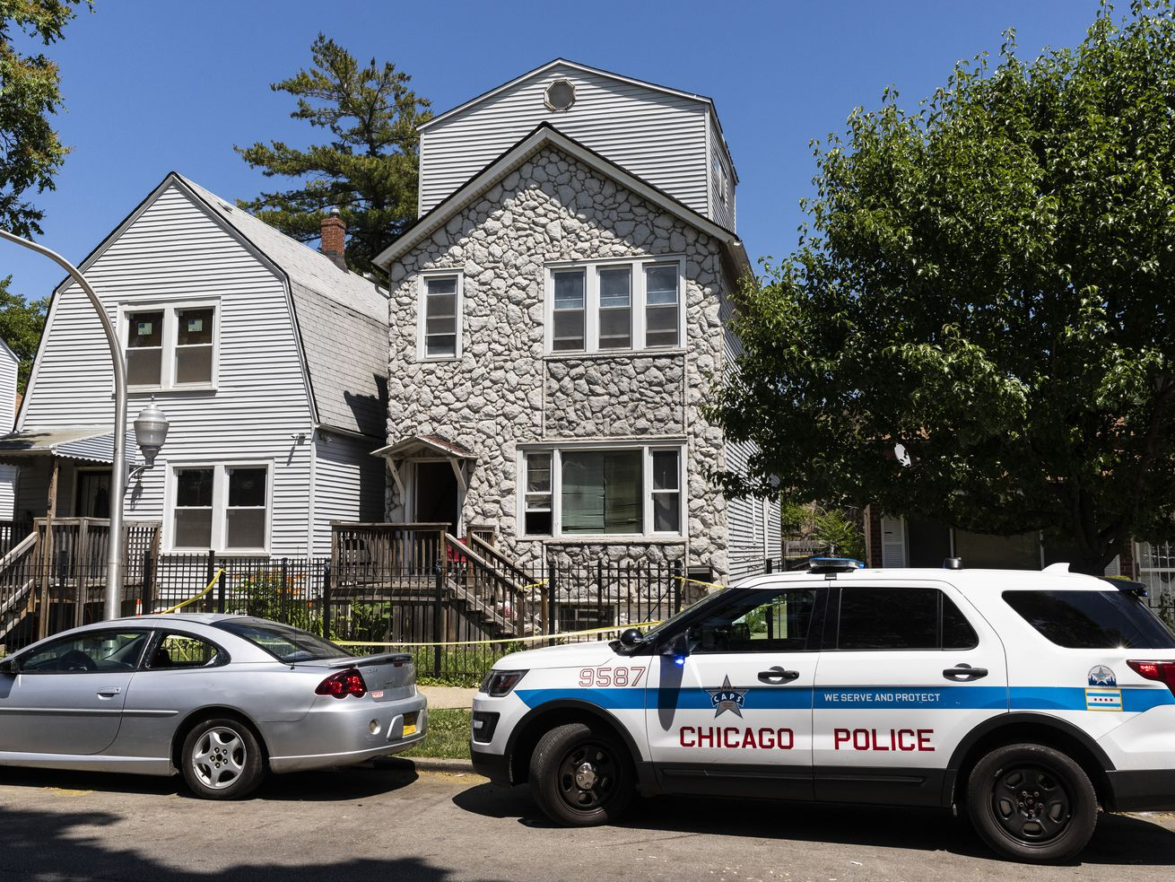 For more than a year, city sought security improvements at Englewood home where 8 people were shot. Yet nothing was done