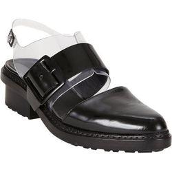 "3.1 Phillip Lim 'Cristobal' closed-toe slingback, <a href=""http://www.31philliplim.com/shop/womens/footwear/cristobal-closed-toe-sling-back-blk-clr"">$475</a>"