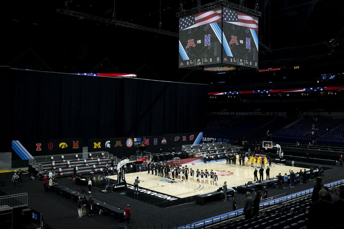 NCAA Basketball: Big Ten Conference Tournament- Minnesota vs Northwestern