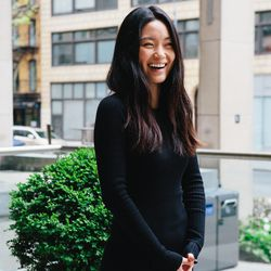 <b>Emily Jung, 25, born in South Korea and raised in Queens. Specialization: Sportswear</b>