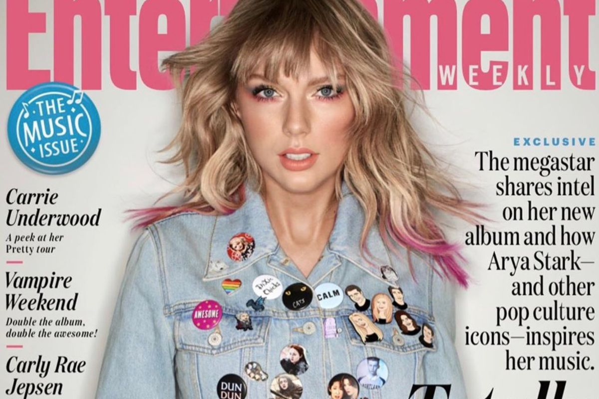 Taylor Swift S Entertainment Weekly Cover Story Contains Dozens Of Easter Eggs About Her Next Album Here Are Just A Few Deseret News