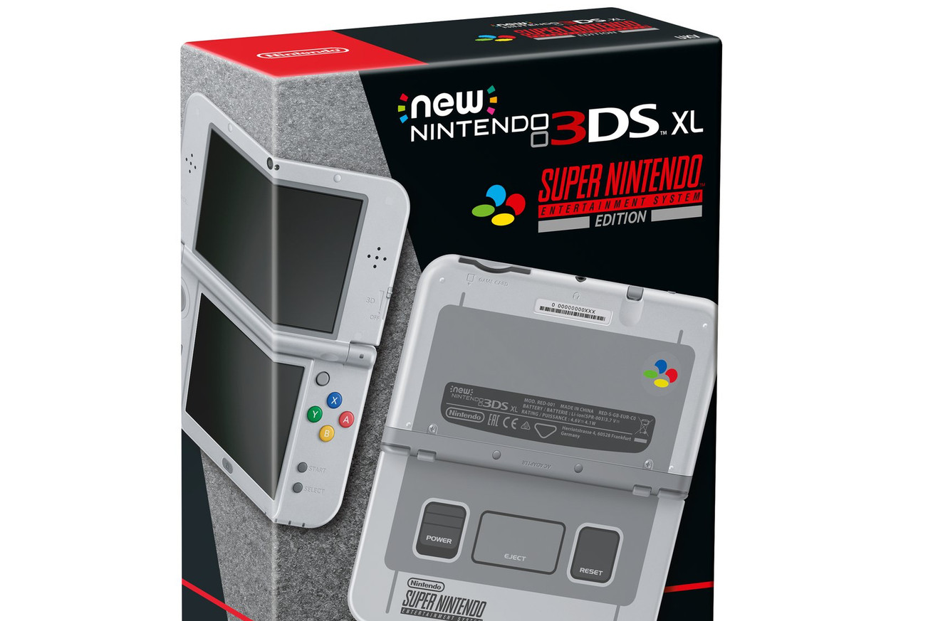 nintendo s amazing snes styled 3ds is sadly only coming to europe