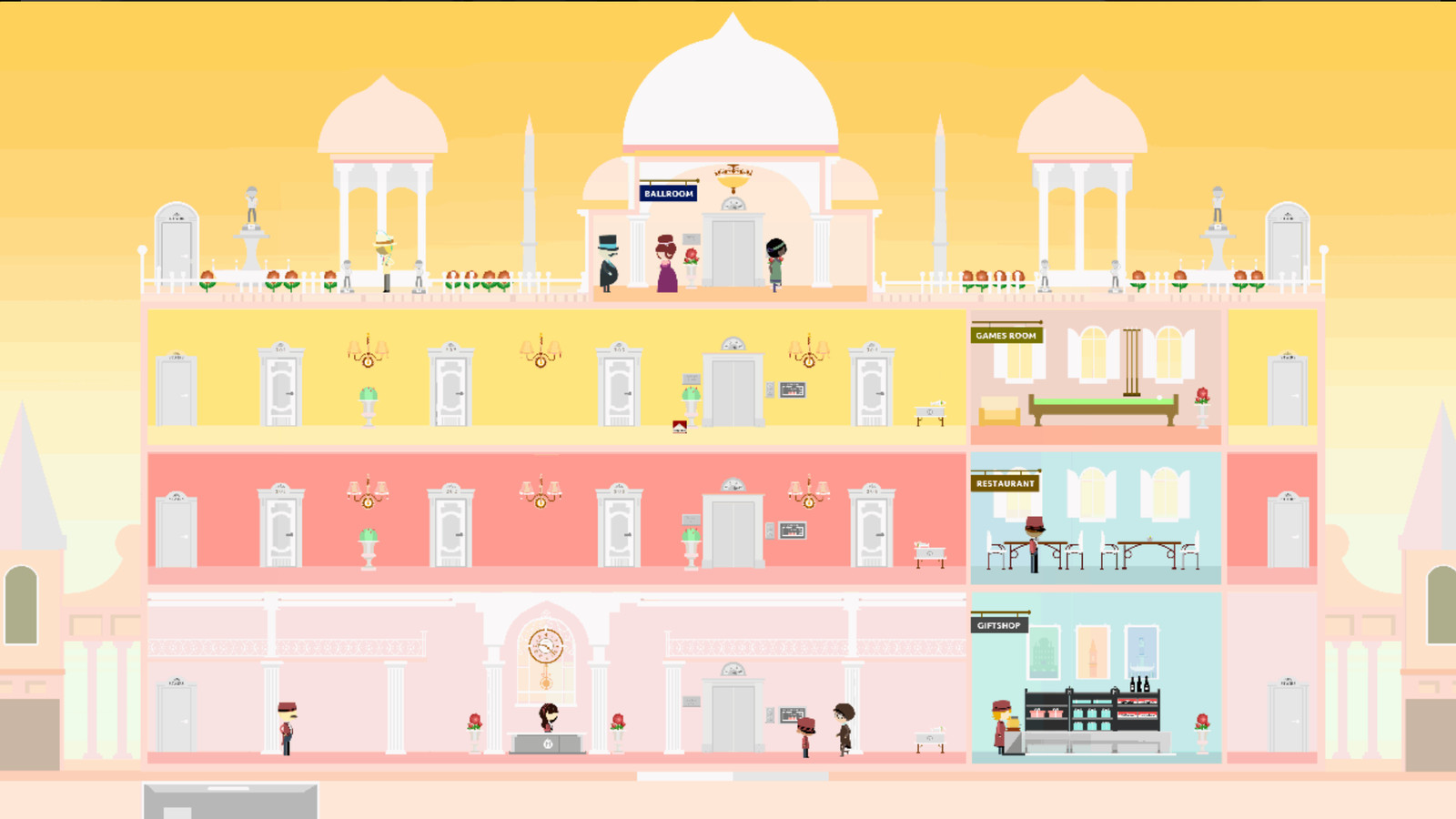This Computer Game Takes You Into Wes Anderson S Grand