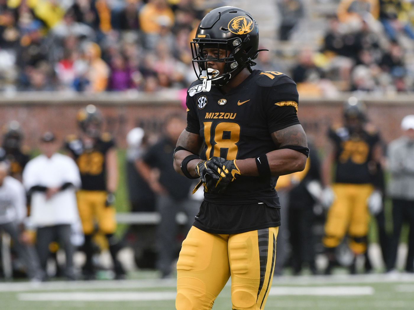 Report: Missouri Safety Joshuah Bledsoe Singled Out Having a 'Great  Meeting' with Colts at Senior Bowl - Stampede Blue