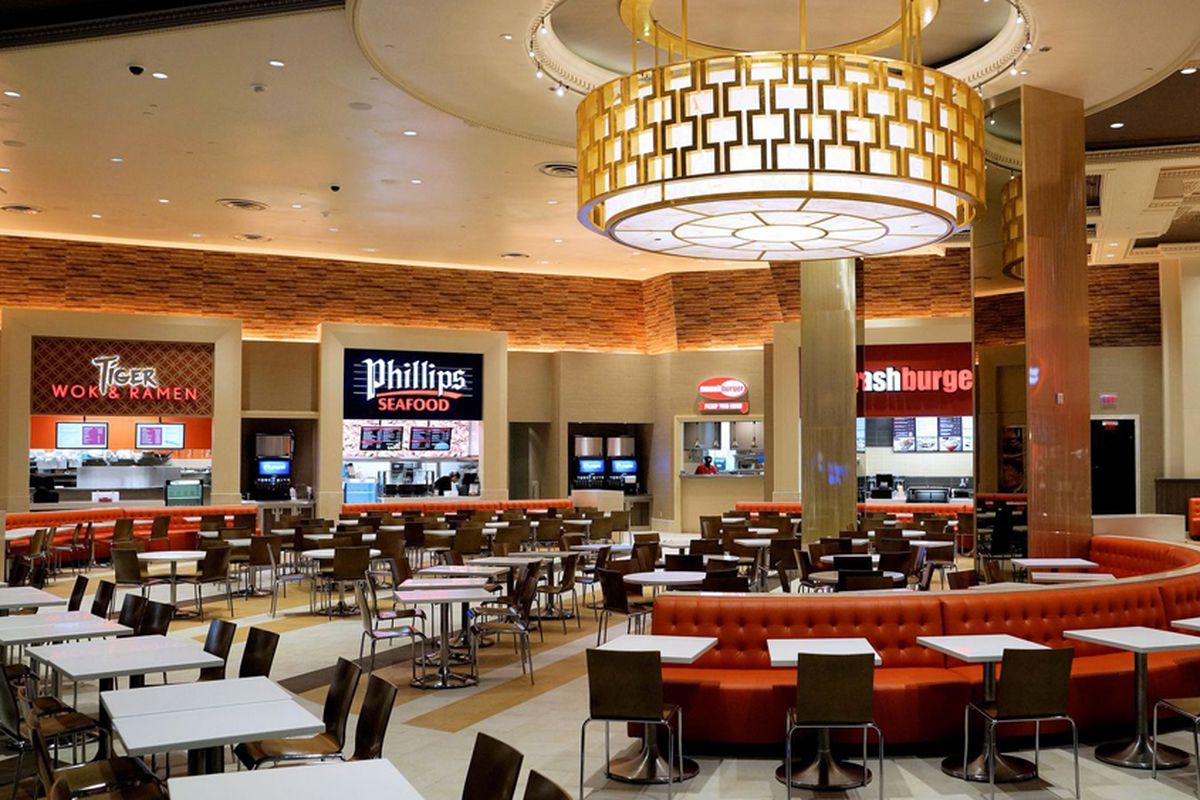 Forum food court phillips seafood amelinda b lee vegas for Interior design forum