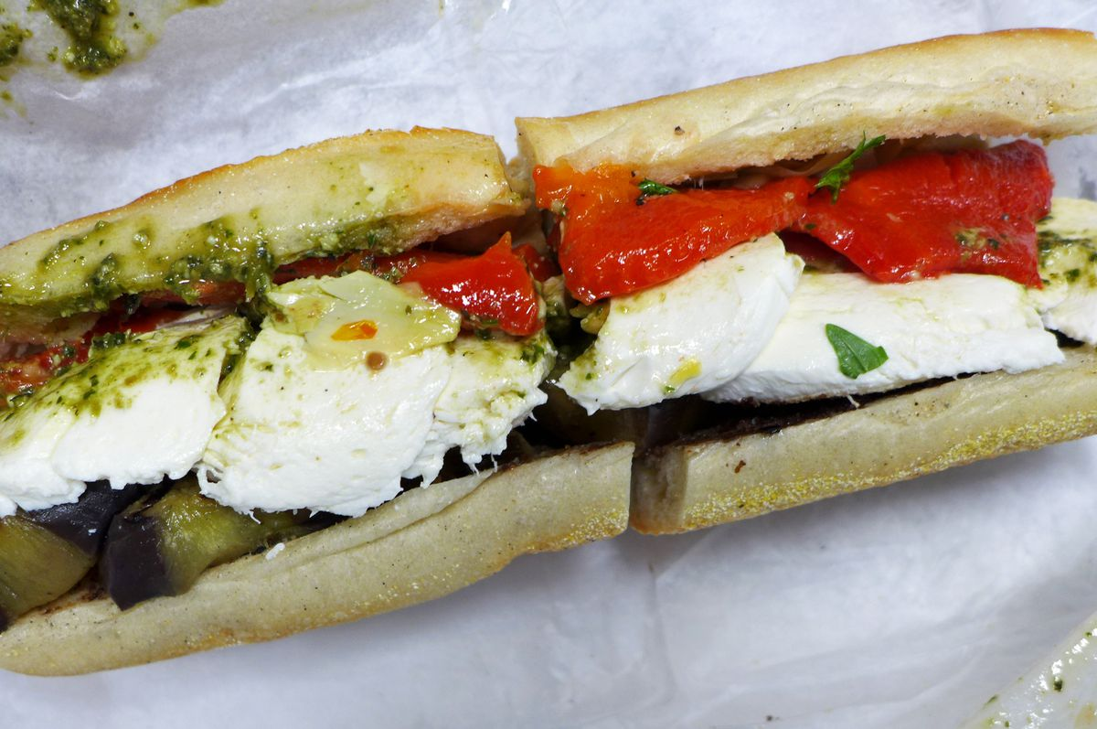 Old School Heroes With Fresh Mozzarella And Other Cheap Eats Eater Ny