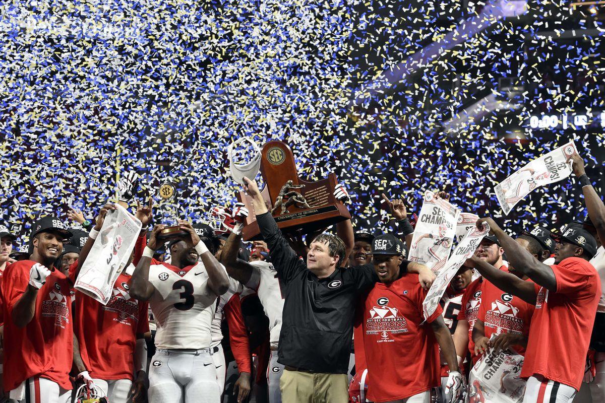 NCAA Football: SEC Championship-Georgia vs Auburn