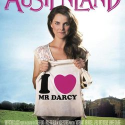 """The movie poster for """"Austenland"""" features Keri Russell."""