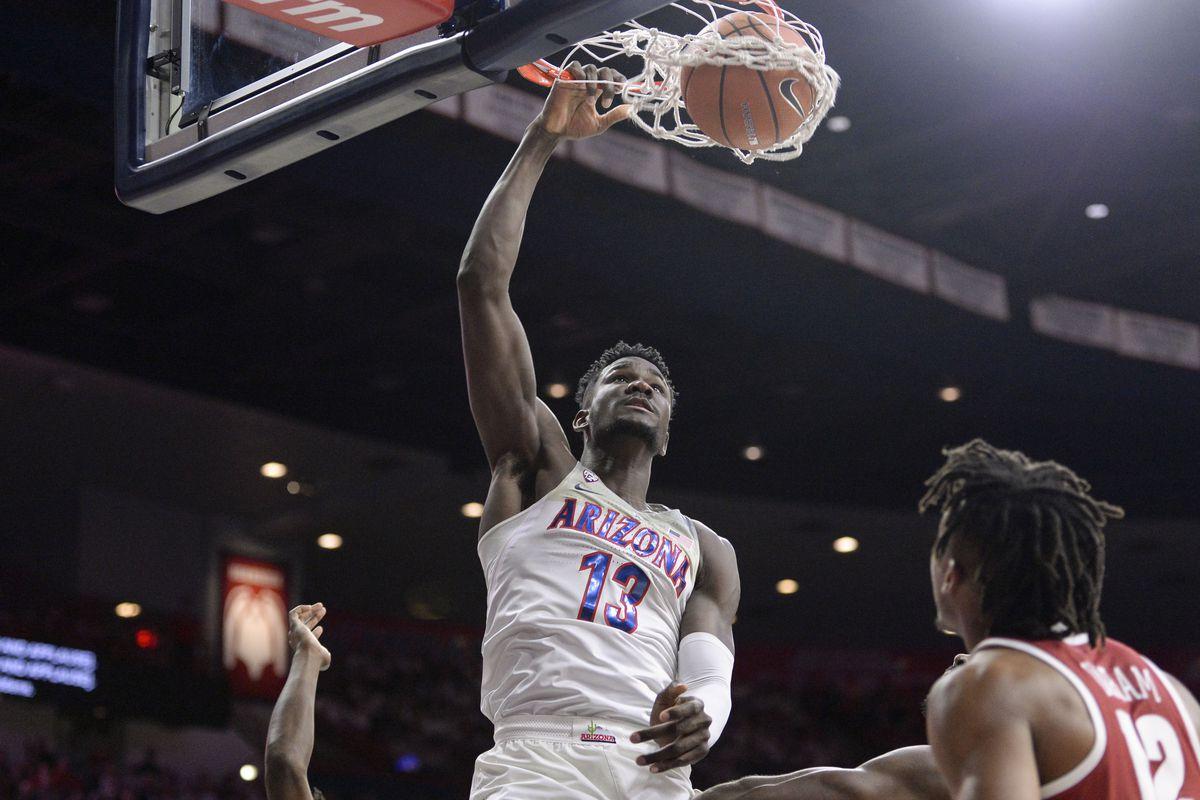 NCAA Basketball: Alabama at Arizona
