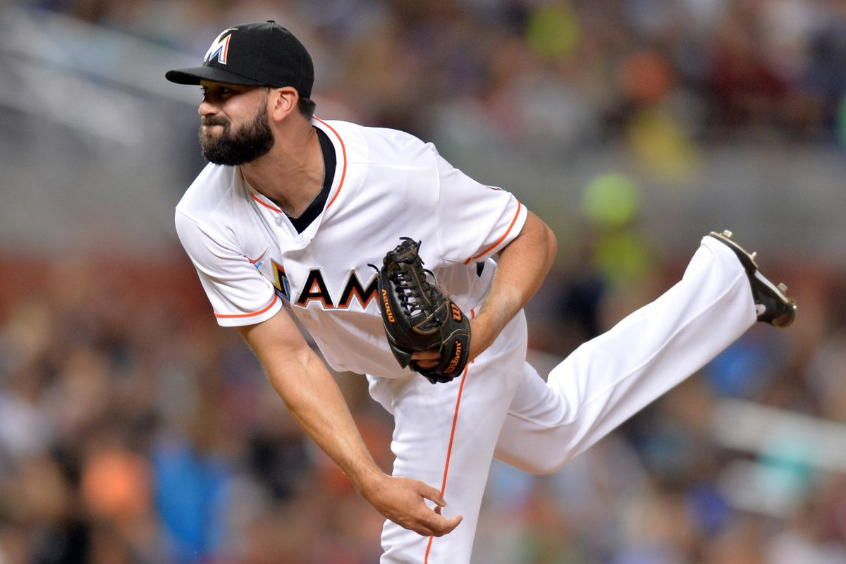 Chris Hatcher pitched in 52 games for the Marlins in 2014. He is out of options.