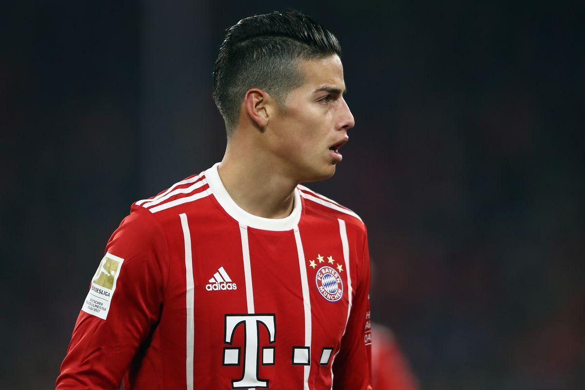 James Rodriguez Insists Hes Enjoying Life At Bayern Munich Despite