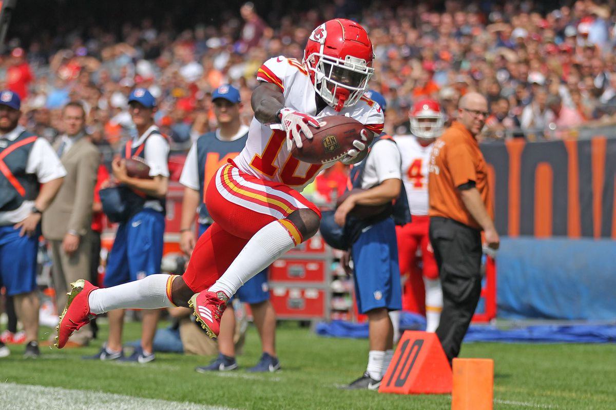 When You Play Wr For Chiefs Qb Patrick Mahomes Never Stop