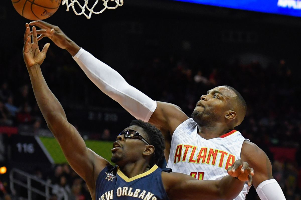 NBA: New Orleans Pelicans at Atlanta Hawks