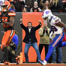 November 2019: Despite a ton of goal line issues, Cleveland finally got the touchdown they needed with WR Rashard Higgins having the red carpet open for him with 1:44 to go in the game, giving Cleveland a 19-16 lead. Buffalo's 53-yard field goal attempt to tie it was no good, improving the Browns to 3-6.