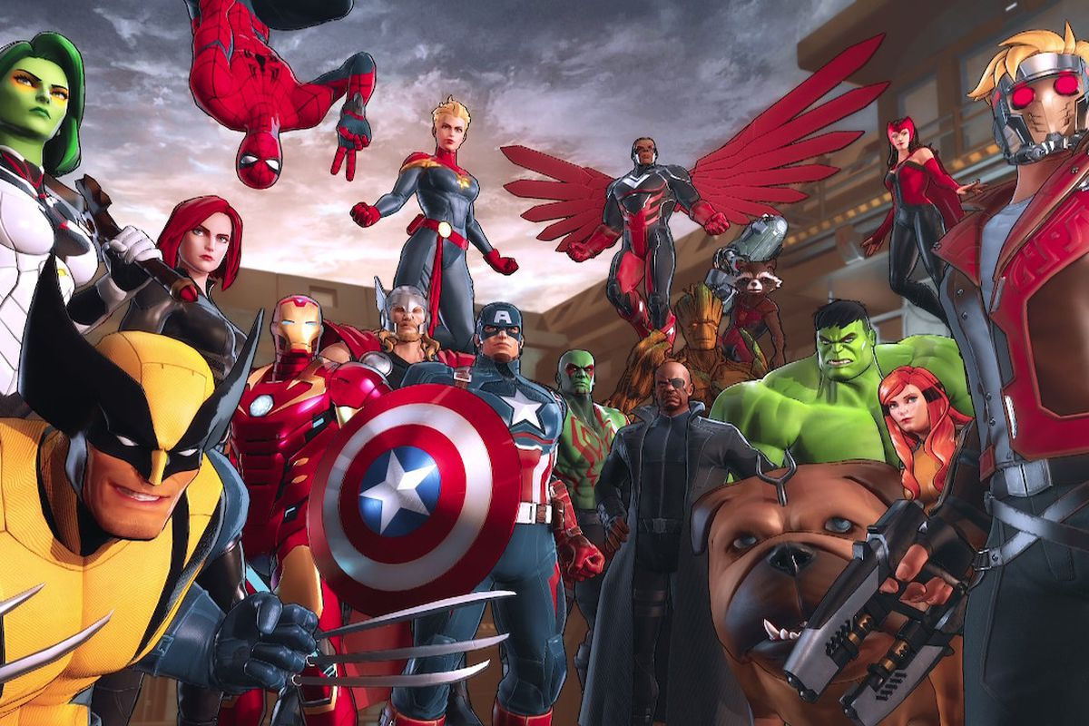 Marvel Ultimate Alliance 3 characters