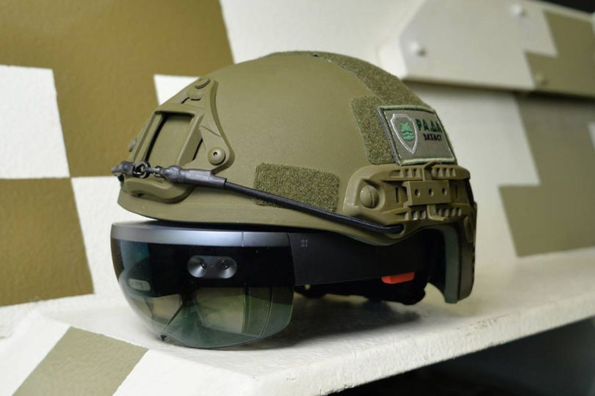 Image result for microsoft hololens military
