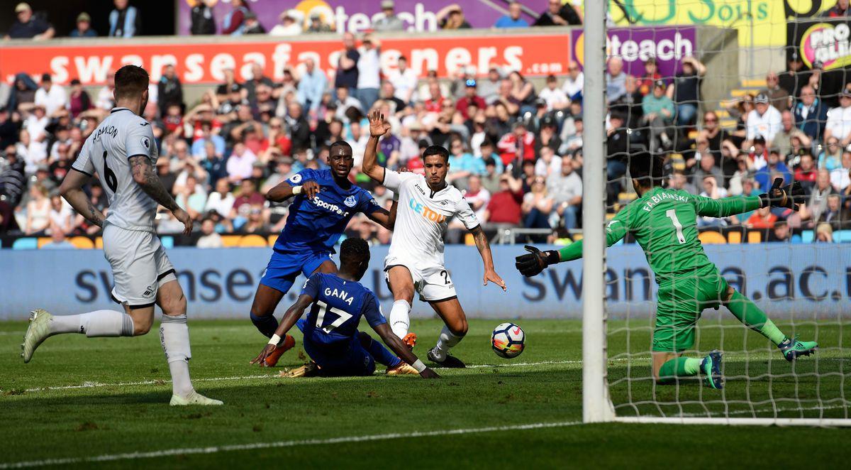 Swansea City v Everton - Premier League