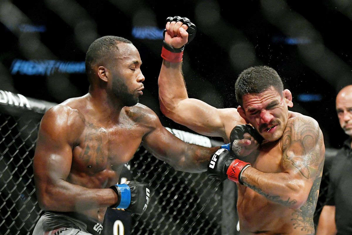 UFC on ESPN 4 in Tweets: Pros react to Leon Edwards' decision win over Rafael  dos Anjos, Greg Hardy's quick TKO finish - MMA Fighting