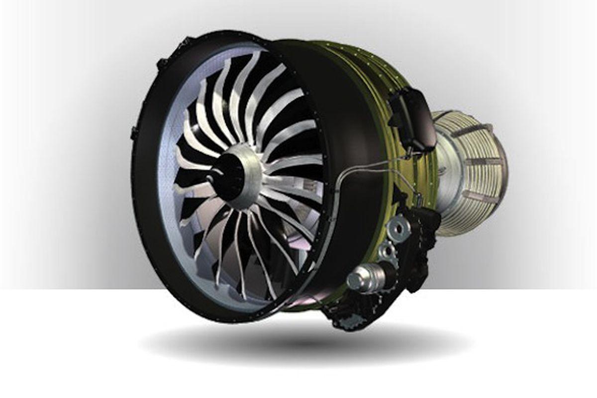 LEAP 3D-printed jet engine (Credit: CFM International)
