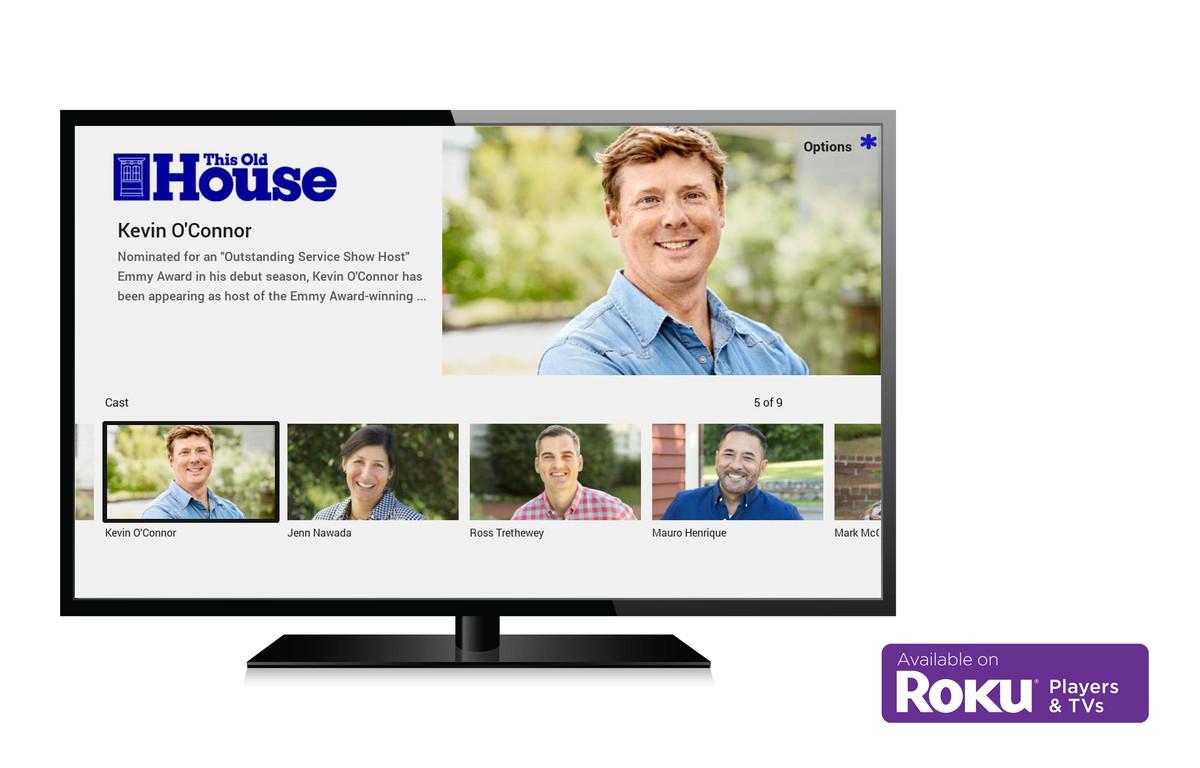 Roku streaming app