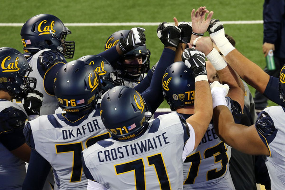 Cal offensive line!