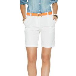 "<b>C. Wonder</b> Cotton Chino Bermuda Short in White, <a href=""http://www.cwonder.com/clothing/shop-by-category/pants-shorts/cotton-chino-bermuda-short.html"">$68</a> at C. Wonder"